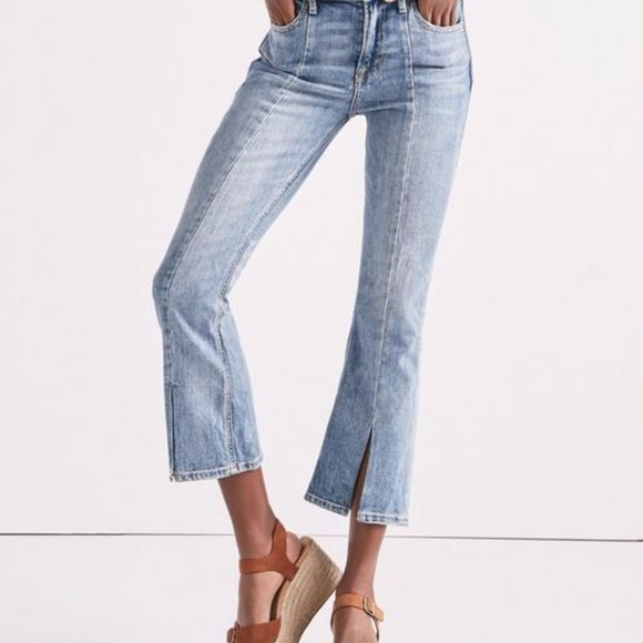 Lucky Brand Denim - Lucky brand Bridgette high rise mini boot jeans